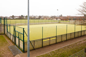 The modern Astro-turf at Burwell Sports Centre (c) image by - ashworthphotography.co.uk