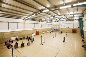 Burwell Sports Hall (c) image by - ashworthphotography.co.uk